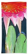 The Water Lily Unleashed Beach Towel