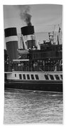 The Waverley Paddle Steamer Mono Beach Towel