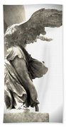The Winged Victory - Paris Louvre Beach Towel