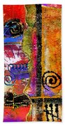 The Woven Stitch Cross Dance Beach Towel