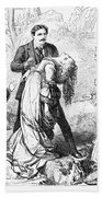 Theater: False Shame, 1872 Beach Towel