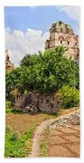 Theodosius Walls In Istanbul Beach Towel