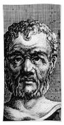 Theophrastus, Ancient Greek Polymath Beach Towel