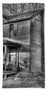 This Old House Beach Towel by Todd Hostetter