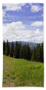 This Way To Eagle Nest - Vail Beach Towel