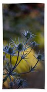 Thistles Abstract Beach Towel