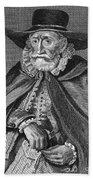 Thomas Hobson (1544-1631) Beach Towel