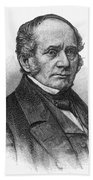 Thomas O. Larkin (1802-1858). American Merchant And California Pioneer. Wood Engraving, 19th Century Beach Towel