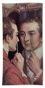 Thomas Young, English Polymath Beach Towel by Science Source