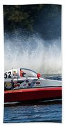 Thunder At The Lake Beach Towel