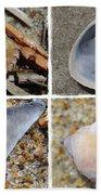 Tideline Treasures Beach Towel