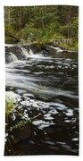 Tidga Creek Falls 1 Beach Towel