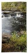 Tidga Creek Falls 2 Beach Towel