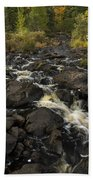 Tidga Creek Falls 3 Beach Towel