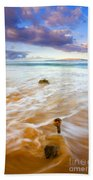 Tied To The Sea Beach Towel
