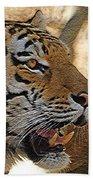 Tiger De Beach Towel