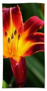 Tiger Lily0263 Beach Towel