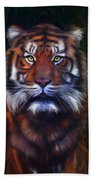 Tiger Tiger Beach Towel
