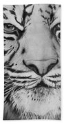 Tiger's Eyes Beach Towel
