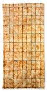 Tiled Wall Beach Towel