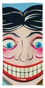Tillie The Clown Of Coney Island Beach Towel