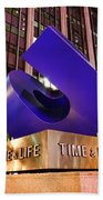Time And Life Curved Cube Beach Towel
