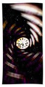 Time Traveler Beach Towel