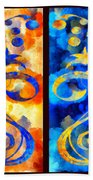 To Harness The Moon And The Sun Beach Towel