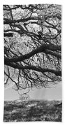 To Lie Here With You Would Be Heaven Beach Towel