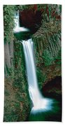 Toketee Falls Beach Towel