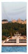 Topkapi Palace In Istanbul Beach Towel