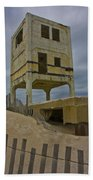 Topsail Island Observation Tower 6 Beach Towel