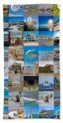 Topsail Visual Contemporary Quilt Series I Beach Towel