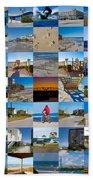 Topsail Visual Contemporary Quilt Series II Beach Towel