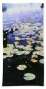 Torch River Water Lilies 3.0 Beach Towel