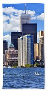 Toronto Waterfront Beach Towel