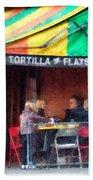 Tortilla Flats Greenwich Village Beach Towel