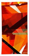 Tower Series 14p Beach Towel by Russell Kightley
