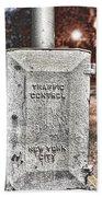 Traffic Control Box Beach Towel
