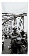 Trang Tien Bridge Hue Beach Towel