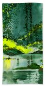 Tranquil 1 Beach Towel