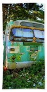 Transit Bus Beach Towel