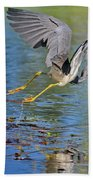 Tri On The Hunt Beach Towel