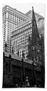 Trinity Church New York City Beach Towel