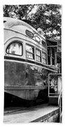 Trolley Car Diner - Philadelphia Beach Towel