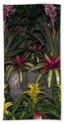 Tropical 1 Beach Towel by Wanda J King
