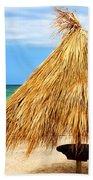 Tropical Beach Beach Towel by Elena Elisseeva