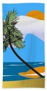 Tropical Outlook Beach Towel