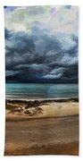Tropical Seasonal Monsoon Rain V3 Beach Towel