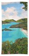 Trunk Bay Beach Towel
